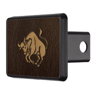 Leather-Look Taurus Hitch Covers