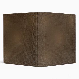 Leather-look texture 3 ring binder
