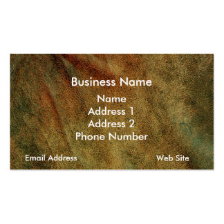 Leather Look Texture Business Cards