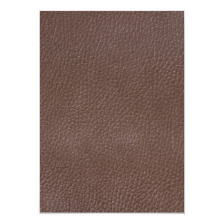 Leather-look texture card
