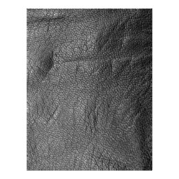 Leather-look texture flyer