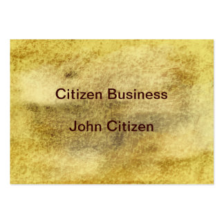 Leather look texture large business card