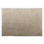 Leather-look texture place mats
