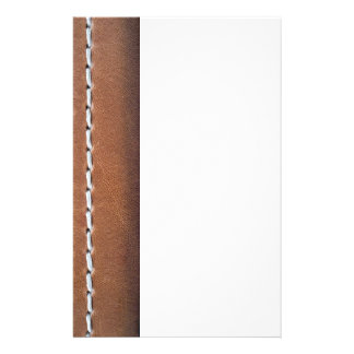 Leather-look texture stationery