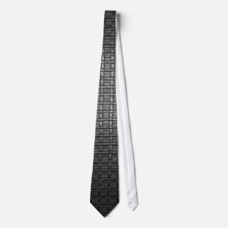 Leather-look texture ties