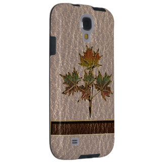 Leather-Look Thanksgiving 2 Galaxy S4 Case