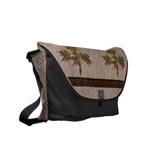 Leather-Look Thanksgiving 2 Messenger Bag