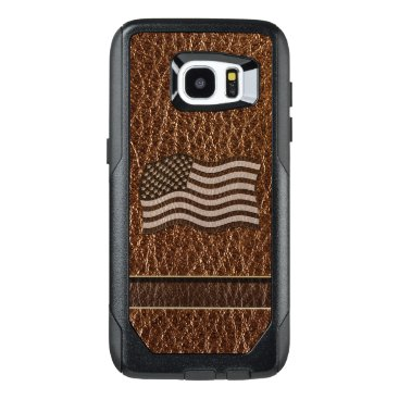 USA Themed Leather-Look USA Flag OtterBox Samsung Galaxy S7 Edge Case