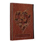 Leather-Look Valentine iPad Folio Case