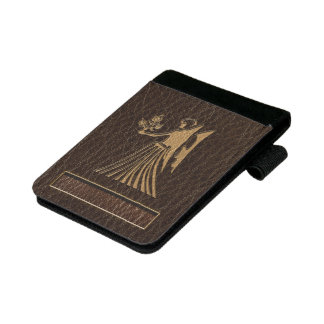 Leather-Look Virgo Mini Padfolio