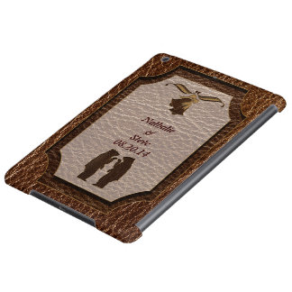 Leather-Look Wedding Cover For iPad Air