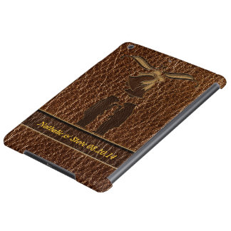 Leather-Look Wedding iPad Air Covers