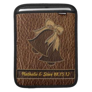 Leather-Look Wedding Sleeve For iPads
