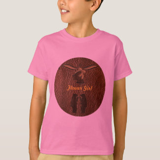 Leather-Look Wedding T-Shirt