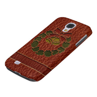 Leather-Look Wreath Galaxy S4 Case