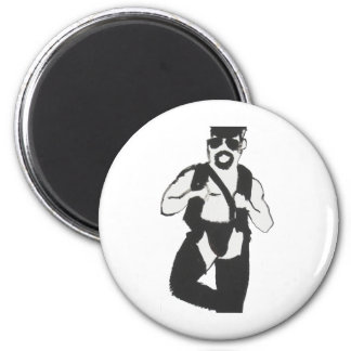 Leather Man Fridge Magnets