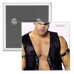 Leather Man Pinback Button