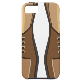 Leather Man's shoes iPhone SE/5/5s Case
