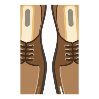 Leather Man's shoes Stationery