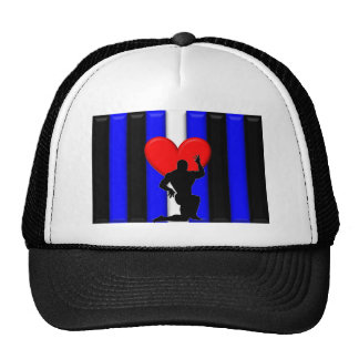 Leather Muscle Worship Pride Trucker Hat