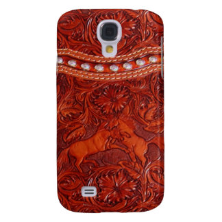 leather mustang Vivid phone case