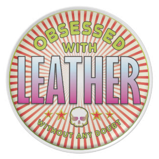 Leather Obsessed R Dinner Plate