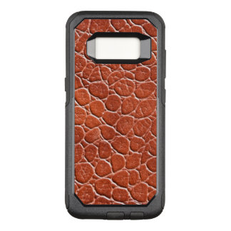 Leather Pattern OtterBox Commuter Samsung Galaxy S8 Case