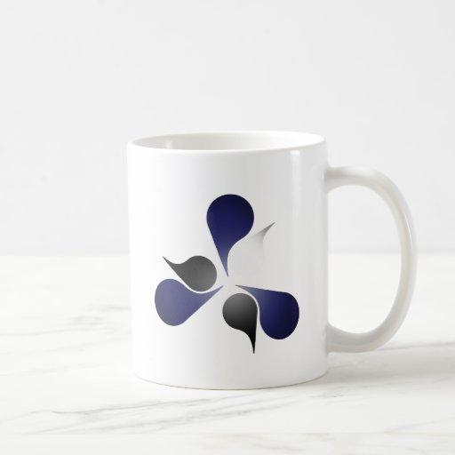 LEATHER PRIDE BURST COFFEE MUG