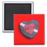 LEATHER PRIDE CANDY MAGNET