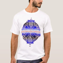 Leather Pride Celtic Knotwork Cross T-Shirt