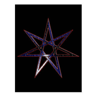 Leather Pride Fairy Star Postcard