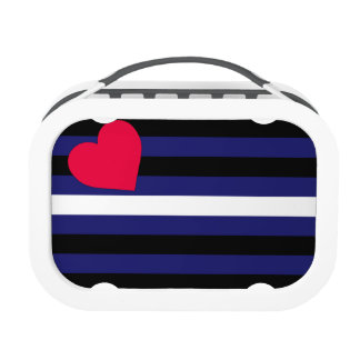 Leather Pride Flag Lunch Box