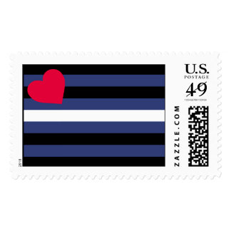 Leather Pride Flag Stamps