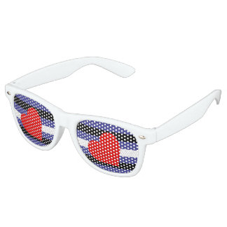 Leather Pride Flag Retro Sunglasses