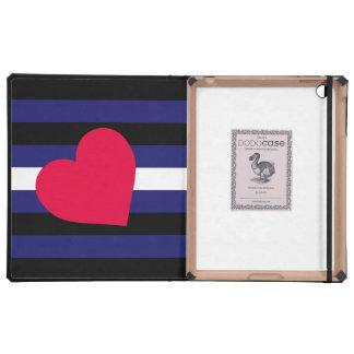 LEATHER PRIDE FLAG STRIPES DESIGN - 2014 PRIDE.png Cases For iPad