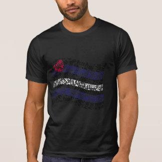 Leather Pride Flag Tee Shirt