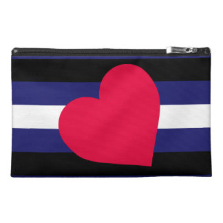 LEATHER PRIDE FLAG TRAVEL ACCESSORIES BAGS