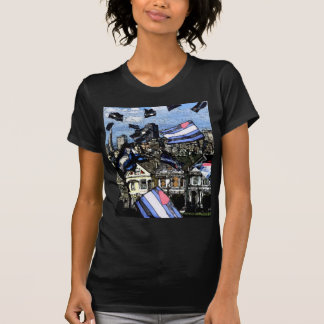 Leather Pride Flags Over San Francisco T-Shirt