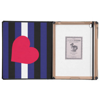 LEATHER PRIDE HEART VERTICAL - 2014 PRIDE.png iPad Cover