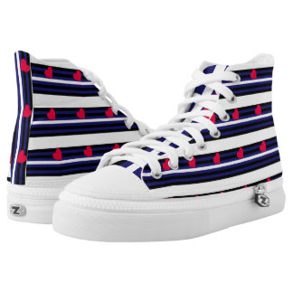 Leather Pride Printed Shoes