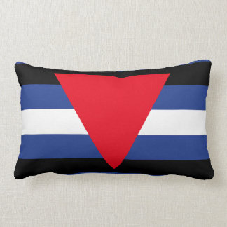 LEATHER QUEER PRIDE THROW PILLOWS