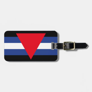 LEATHER QUEER PRIDE TAG FOR LUGGAGE