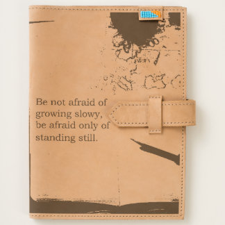 Leather Quote Steampunk Travel Journal