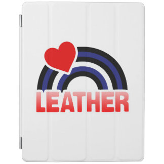 LEATHER RAINBOW FLAG -.png iPad Cover