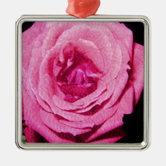 Leather Rose Ornament