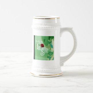 Leather Silk Cover Coffee Mugs