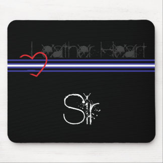Leather Sir Mouse Pad