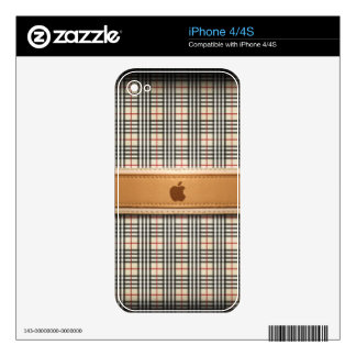 leather decals for the iPhone 4S