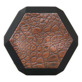 Leather Skin Black Bluetooth Speaker