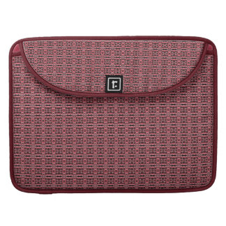 Leather-Stone designed pattern Sleeves For MacBook Pro